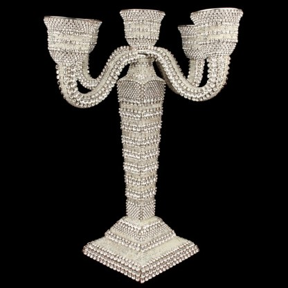 CDH-208 bb Simon Swarovskii crystal Candle holder