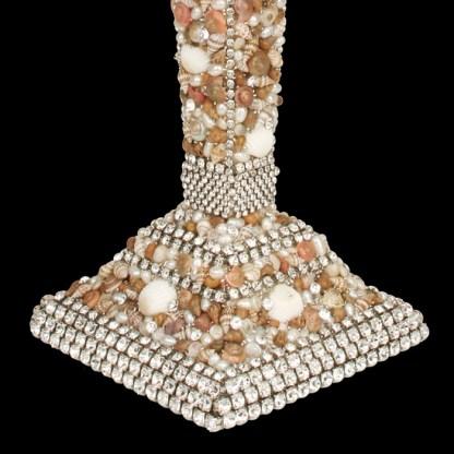 CDH-208-SH bb Simon Swarovskii crystal Candle holder
