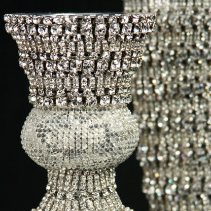 CDH-214-M bb Simon Swarovskii crystal Candle holder