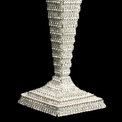 CDH-215-S bb Simon Swarovski crystal Candle holder