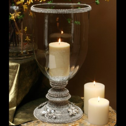 CDH-230 bb Simon Swarovski crystal Candle holder