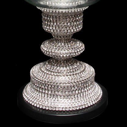 CDH-238 bb Simon Swarovski crystal Candle holder
