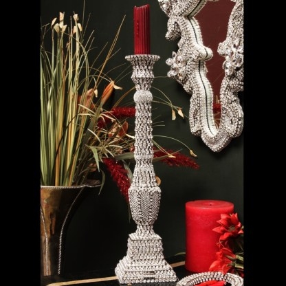 CDH-239 bb Simon Swarovski crystal Candle holder