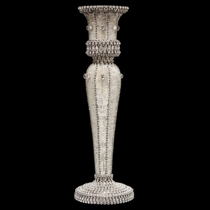 CDH-240-L bb Simon Swarovski crystal Candle holder