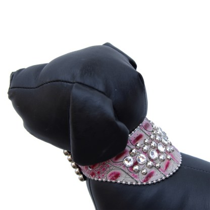 Chelsea - Croco - B.B. Simon Dog Collar