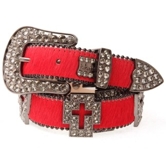 Crimson B.B.SIMON BELT