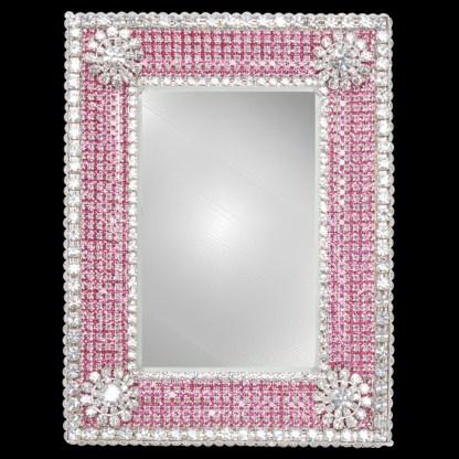 F-106-CUP-PINK-M bb Simon Swarovski crystal frame