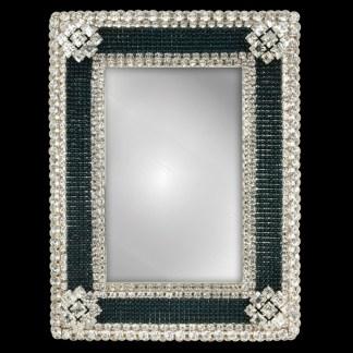 F-131-M bb Simon Swarovski crystal frame