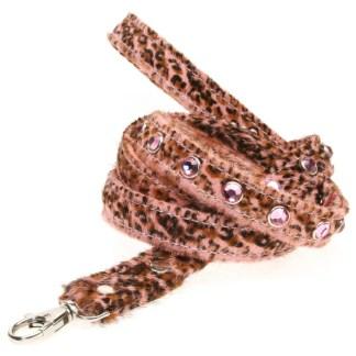 LEASH Bambi Cheetah Dog Harness