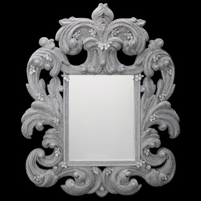 M-207 BB Simon Ornate Home Bling Mirrors