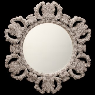 M-516-CLEAR BB Simon Authentic Central Diamond Mirror