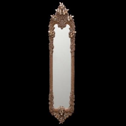 M-523-GOLD BB Simon Skinny Gold Jewel Mirror