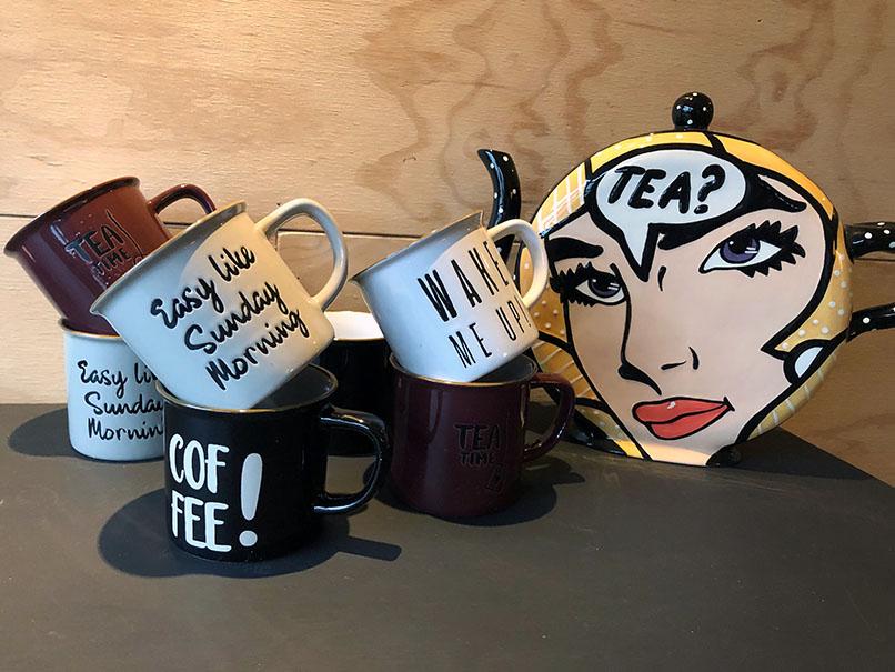 Koffie & thee staan klaar