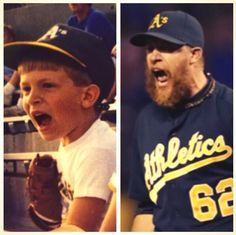 Little Doo and Big Doo! #FaceOfMLB