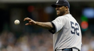 C.C. Sabathia. Mike McGinnis/Getty Images.