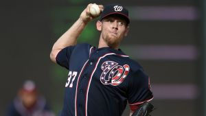 Stephen  Strasburg. Getty Images.