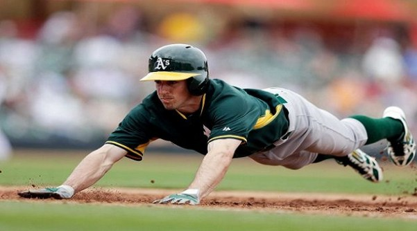 A's, Billy Burns