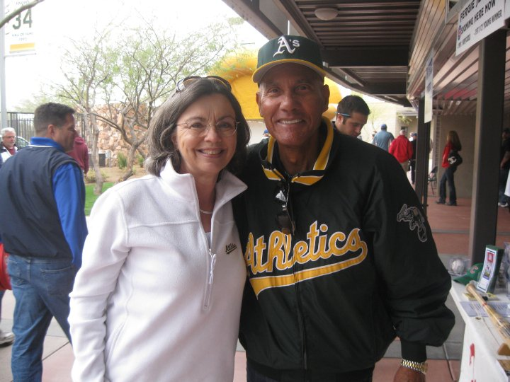 Mom with Campy in 2010!