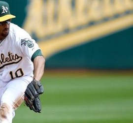 donaldson, first half, Marcus Semien, Jed Lowrie, success, new-look infield