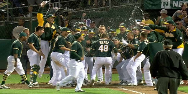 Ryon Healy, 2017 lineup