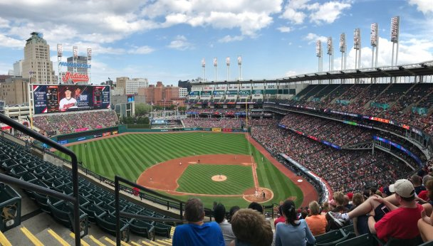 Progressive Field. friday