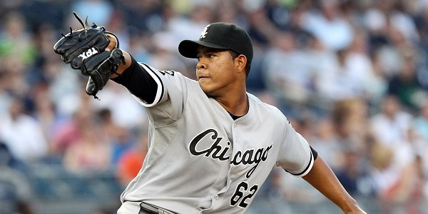 Jose Quintana was traded from the Chicago White Sox to the Chicago Cubs