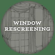 window rescreening