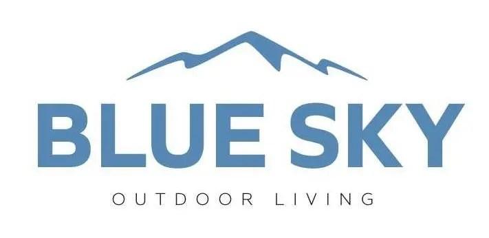 blue sky outdoor living