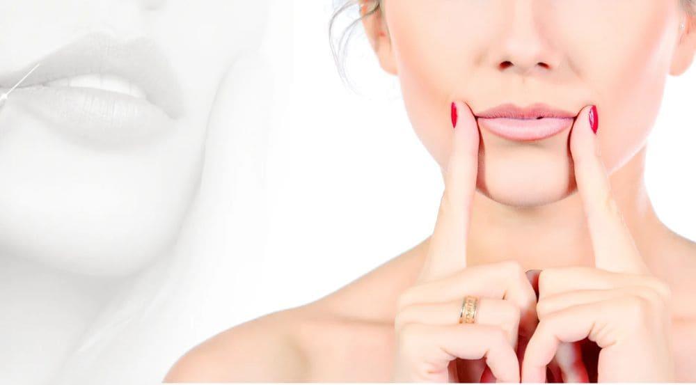 Как поднять уголки губ