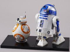Star Wars BB-8 & R2-D2 (The Force Awakens) 1/12 Scale Model Kit