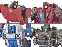 Transformers War for Cybertron: Siege Deluxe Wave 1 Set of 4 Figures