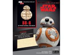 Star Wars IncrediBuilds BB-8 Book & 3D Wood Model Kit