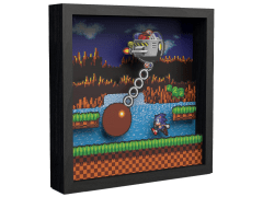 Sonic the Hedgehog Wrecking Ball Pixel Frame (9x9)