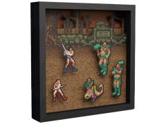 Golden Axe Pixel Frame (9x9)