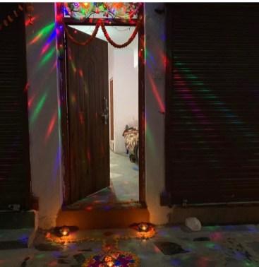 Entrance to the BBUN office in Kathmandu.