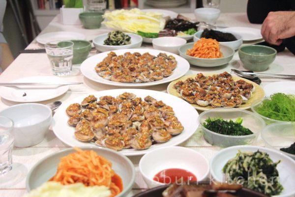 ggomak muchim at a recent bburi kitchen dinner