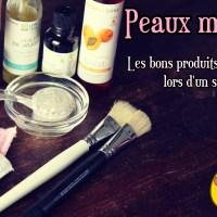 Peaux mixtes : Les bons produits à utiliser lors d'un soin visage 💋🌺