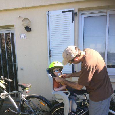 Ta première balade à vélo