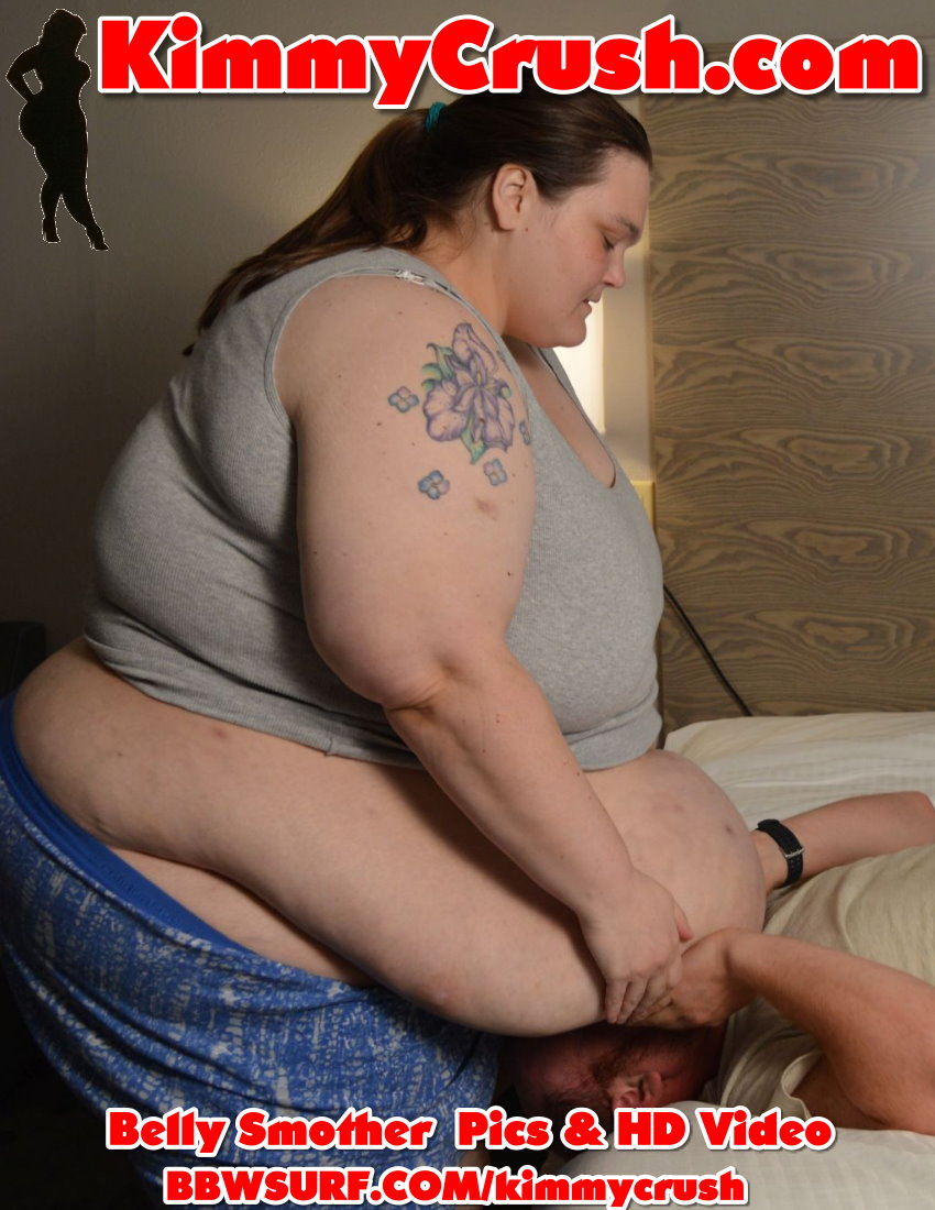 Belly Plop & Smother with SSBBW KimmyCrush