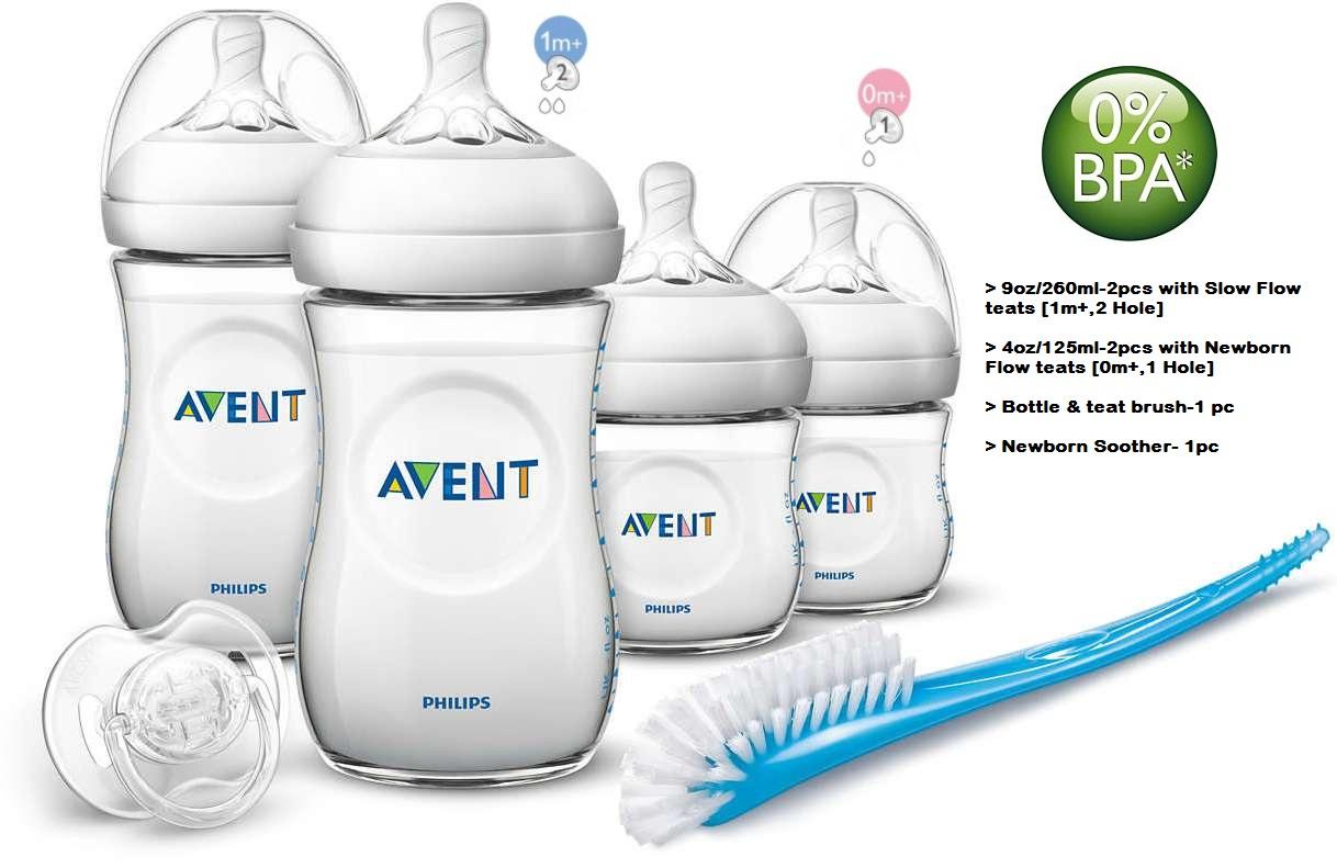 Baby Bottle Avent Natural Newborn Starter Set Shop Malaysia Philips New Skin Soft Nipple 2 Pack Medium Flow 3m
