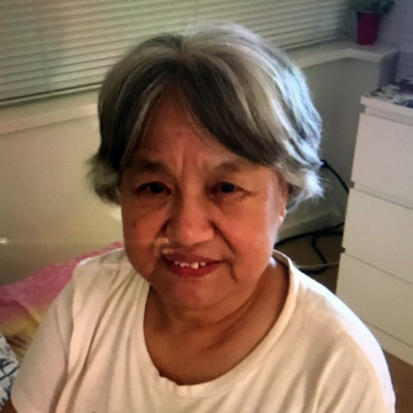 Feng Qin Zhou was reported missing by her daughter on Novermber 20, 2019