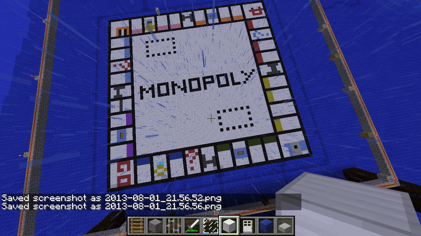 Minecraft Monopoly Poker And Foosball Baconcape