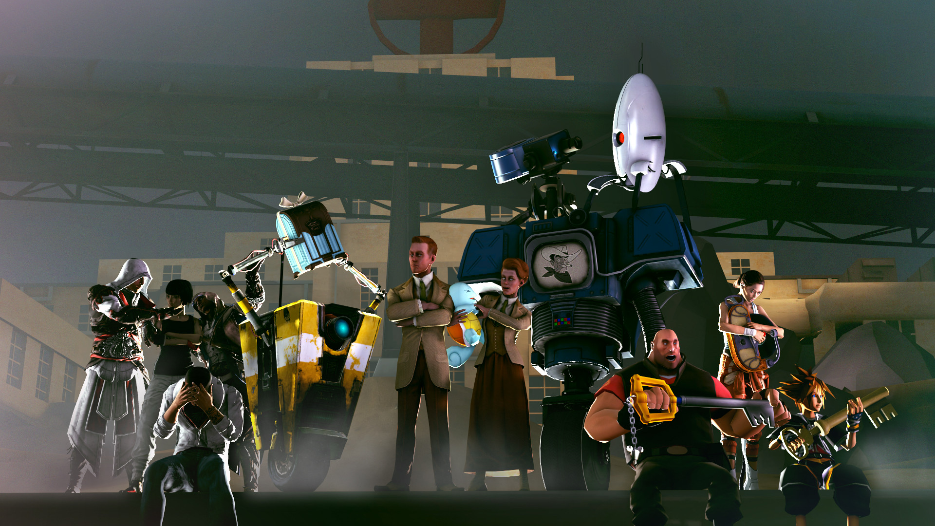 Team Fortress 2 Crossovers BC GB