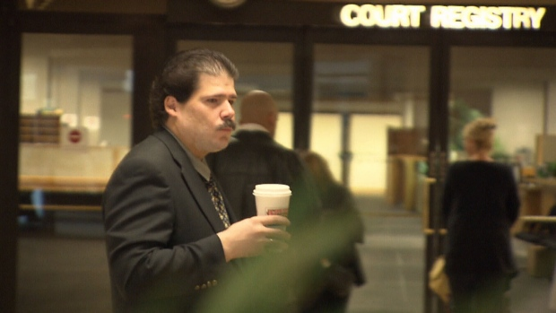 Brian Cutteridge pleaded guilty to having sex with his dog on Oct. 2, 2012. (CTV)