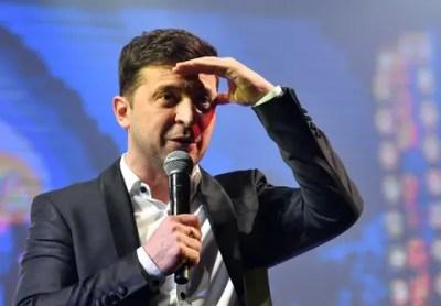 Image result for Comedian set to clinch presidency in Ukraine
