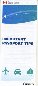 Passport Canada Brochure
