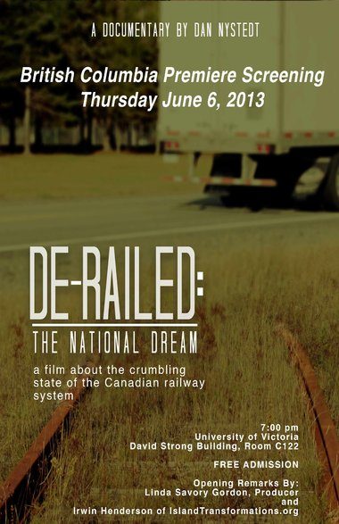 BC Premiere of De-railed film