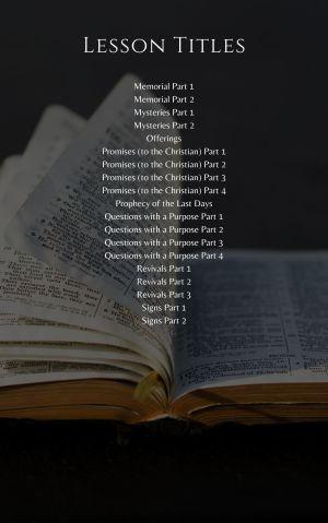 Topical Bible Studies – Volume 2