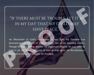 Thomas Paine Freedom Quote Art Print