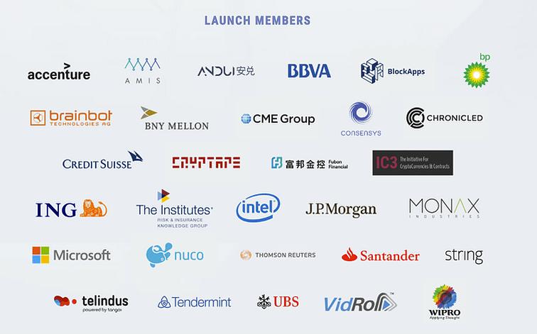 ethereum launch members